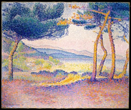 Pins sur la Côte 1896 - 54 x 65 cm - MMA New York - Cross Henri Edmond
