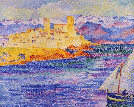 Antibes - 1908 - Cross Henri Edmond