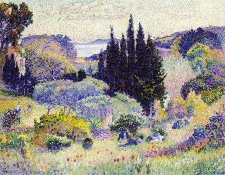 Les Cyprés - 1904 - Coll Privée - Cross Henri Edmond