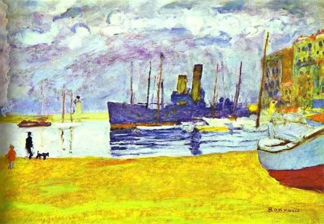 Port de Cannes - Pierre Bonnard