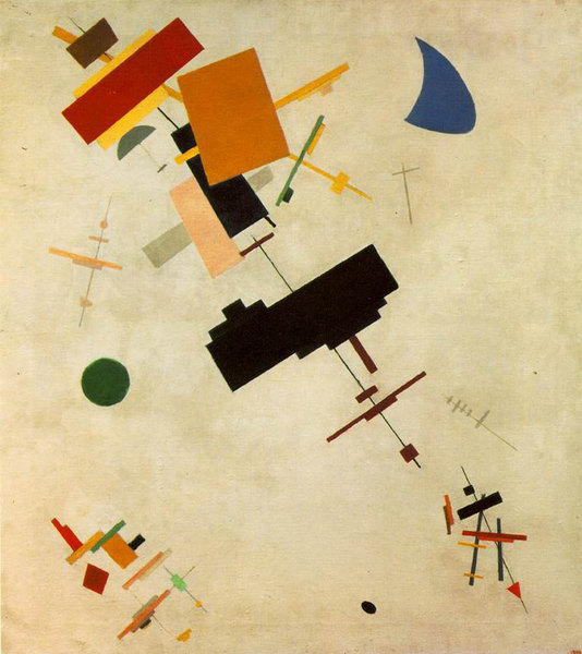 Suprematisme 54 - Casimir Malevitch
