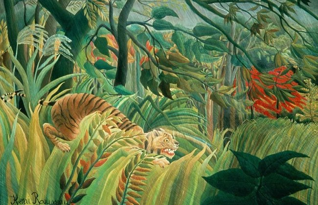 Surprise - Henri Rouseau