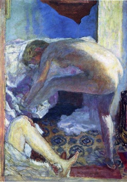 Le grand nu bleu - Pierre Bonnard