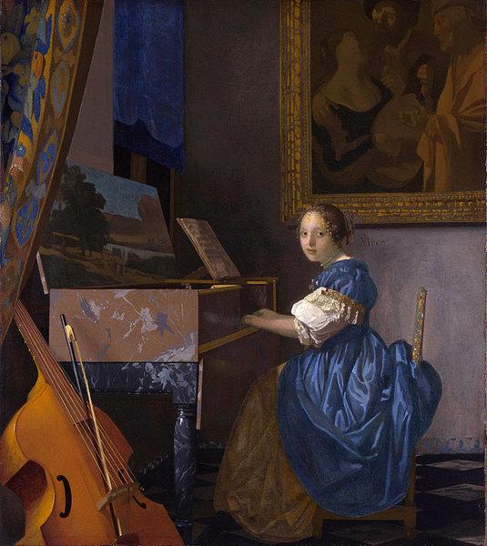 Dame assise au virginal - Jan Vermeer