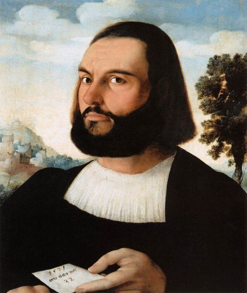 Portrait d'homme - Jan Van Scorel
