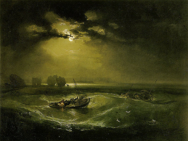 Pêcheurs en mer - William Turner