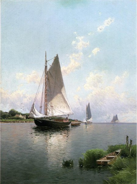 Blue Point Long Island -Alfred Bricher