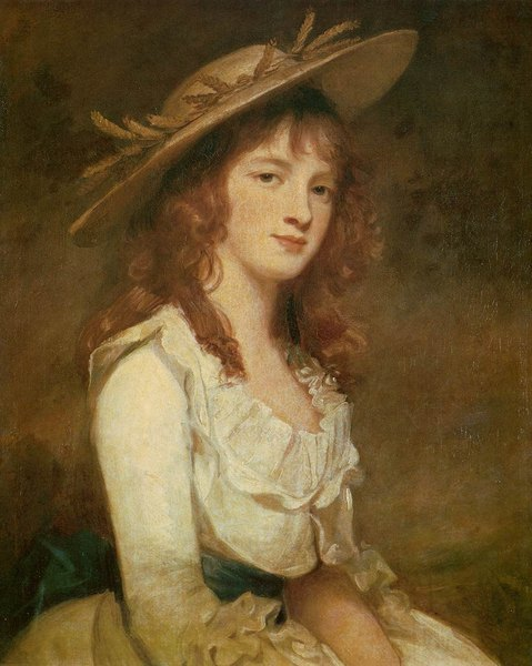 Miss Constable - Georges Romney