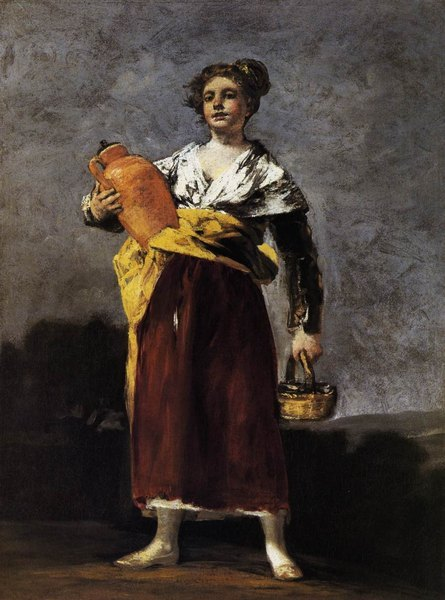 La porteuse d'eau -Francisco Goya
