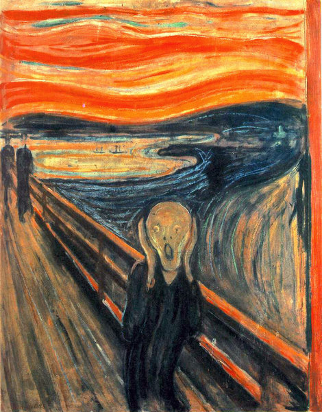 Le cri - Edward Munch