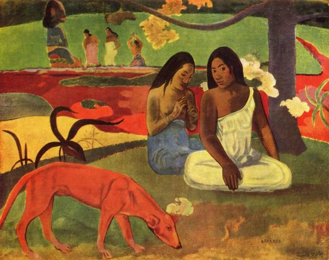 arearea - paul gauguin