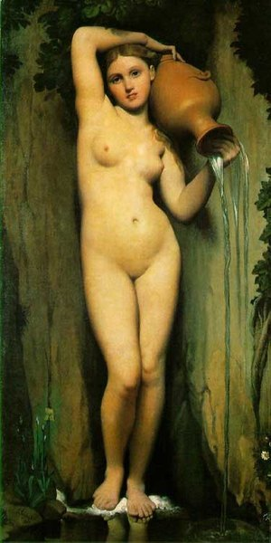 La source - Ingres