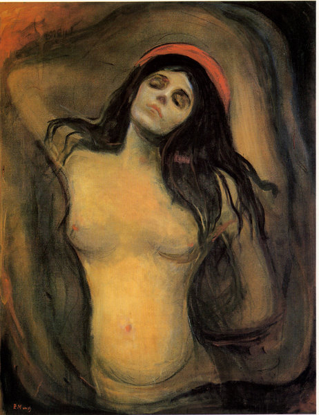 La Madone - Edward Munch