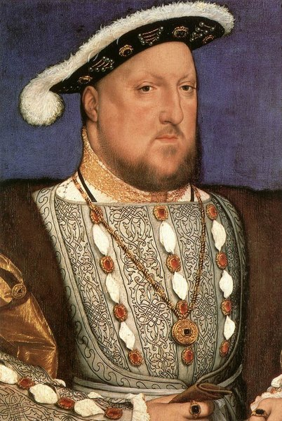 Portrait d'Henry VIII- Hans Holbein