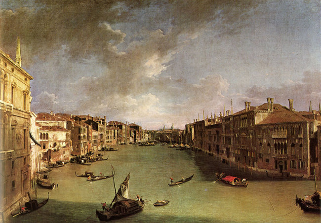 Grand Canal - 1723 - Antonio Canaletto
