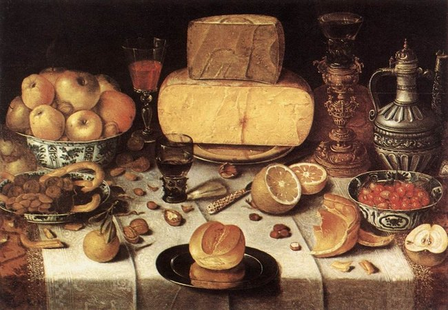 Table mise ,1611 - Nicolas Gillis