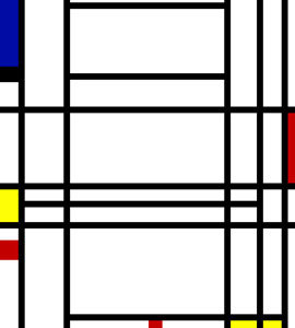 Composition n°10 - Piet Mondrian