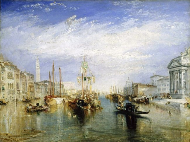 Venise , le grand canal - William Turner