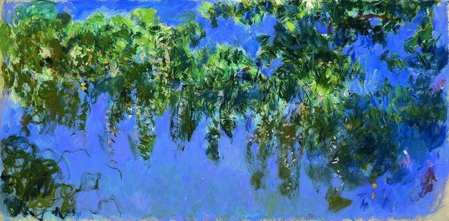 Glycines - Claude Monet