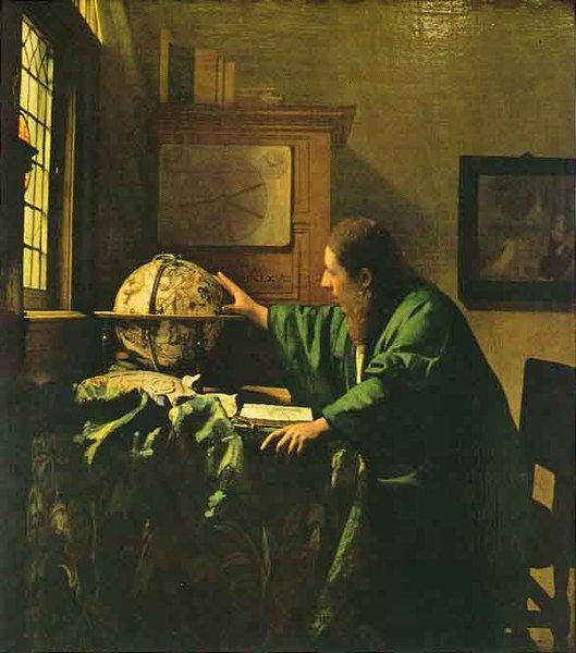 L'astronome -Vermeer
