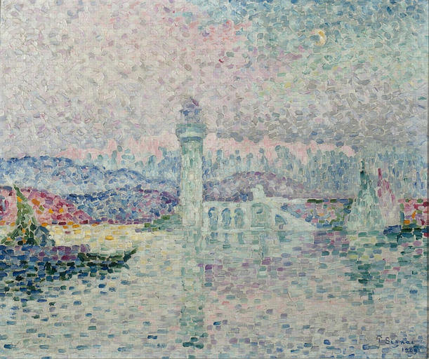 Le Phare d'Antibes -Paul Signac