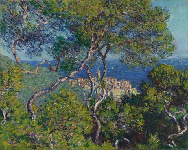 Bordighera -  Claude Monet
