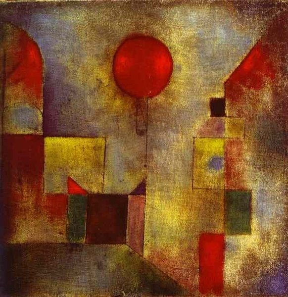 Ballon rouge - Paul Klee