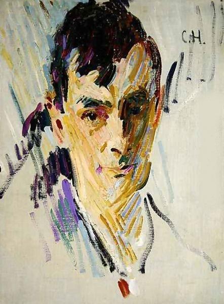 Portrait d'Otto Mueller par C.Herrmann