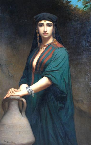 Femme Fellah Charles Landelle